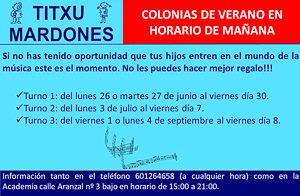 Min Colonias Musicales 2017 - Titxu Mardones