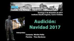 min - audición Navidad 2017 - escuela de música en Castro Urdiales